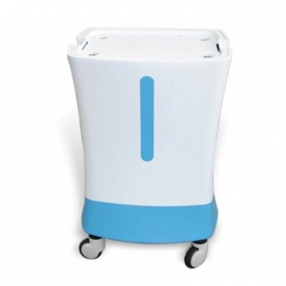 Тумба на колёсах для со встроенным модулем для RF-терапии